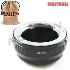 Roxsen Minolta MC MD SR mount lens To Fujifilm X-Pro1 FX Adapter camera
