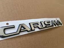 NEW GENUINE MITSUBISHI CARISMA  1999-2004 GDI DI-D16V TD BOOT LID  BADGE EMBLEME