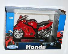 Welly - HONDA CBR1100XX (Red) Motorbike Model Scale 1:18