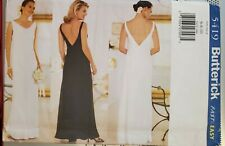 Butterick fast & easy pattern 5419 Misses'/Petite Special Occasion Dress sz 6-10