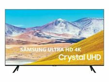 "TV LED 55"" POLLICI SMART LED SAMSUNG 55TU8072 ULTRA UHD 4K HDR INTERNET TV"