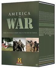 America at War 14 Disc Megaset, DVD, 2009, 30 Hours of American Military Combat