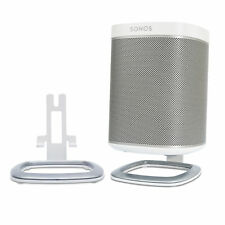 Flexson FLXP1DS2011 Desk Stand Mount Bracket for Sonos PLAY:1 PAIR WH - OPEN BOX