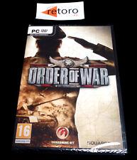 ORDER OF WAR PC Español NUEVO Estrategia Square Enix Factory SEALED Nuevo NEW