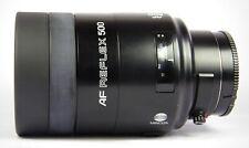 Minolta AF 500mm F/8.0 Reflex Spiegel Teleobjektiv für Sony A-Mount inkl. Filter