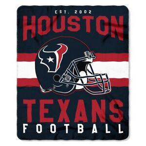"Houston Texans  50"" x 60"" Singular Fleece Throw Blanket by Northwest"