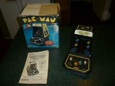 Vintage Coleco Pac-Man Table-Top Mini Arcade with Original Box (1981) Works