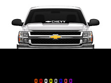 Chevy Logo Front Windshield Decal Sticker Fits Chevy Trucks Cars SUV's 23""