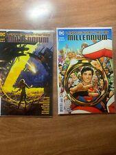 Legion Of Super Heroes Millennium # 1 and 2 Bendis Dc Nm/Vf Superman Superboy