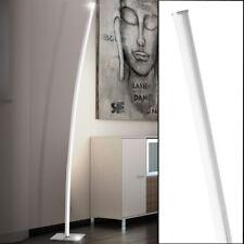 LED 21W Stand Strahler Decken-Fluter Lese Steh Lampe Büro Nickel Bogen Leuchte