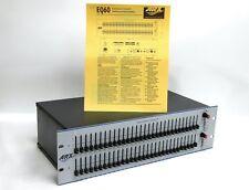 Arx Eq 60 Dual Channel Graphic Equalizer Eq60 #3636