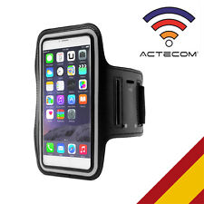 "ACTECOM® FUNDA CINTA BRAZALETE NEOPRENO PARA IPHONE 6S PLUS 5,5"" DEPORTE RUNNING"