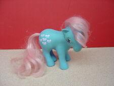 "1983 Hasbro Hong Kong MY LITTLE PONY ""Bow Tie""? Pink Ribbon Symbol"