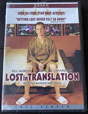 Lost in Translation Full Frame (Dvd) New