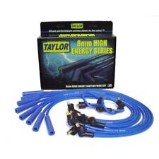 Taylor Spark Plug Wire Set 64661; High Energy 8mm Blue Straight for Ford V8