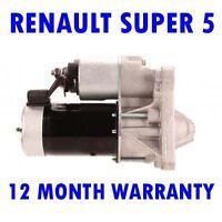 Renault Super 5 1.0 1.1 1.4 1.7 Hatchback 1984 1985-1995 Motor de Arranque Rmfd