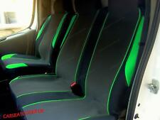 Ford Transit Mk 7 (06-13) GREEN MotorSport VAN Seat COVERS - Single + Double