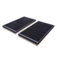 Carbon Cabin Pollen Filters x 2 Fram Fits BMW 5 6 Series E60 E61 E63 E64