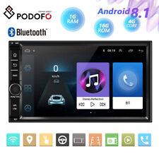 Android 8.1 2Din 7 '' Pantalla táctil Radio para coche Reproductor MP5 GPS WIFI