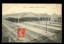 France Correze BRIVE Railway Station Interior 1915 PPC