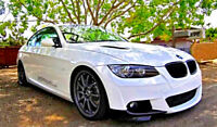 FOR BMW E92 E93 M-TECH M-SPORT FRONT LIP / SPLITTERS / VALANCE / SPOILER