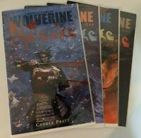 WOLVERINE - Netsuke #1 2 3 4 (4) - George Pratt - Marvel Comics