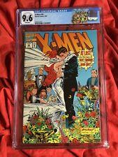 CGC 9.6~X-MEN #30~JEAN GREY CYCLOPS WEDDING+FLEER CARD INSERT~WRAP AROUND+LABEL