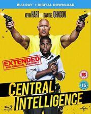 Central Intelligence (Blu-ray + Digital Download) [2016] [DVD][Region 2]