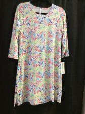 Small Lulu B Multicolor UPF 50 Dress. Retail $69. Free Shipping