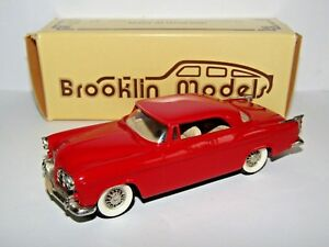 BROOKLIN MODELS 1955 CHRYSLER C300 HARDTOP COUPE RED 1/43 BRK19