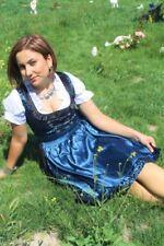 Germany,German,Trachten,May,Oktoberfest,Dirndl Dress,3-pc.Sz.20,Dark Blue,Black