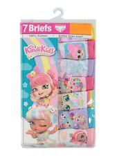 Girls Themed Character Underwear 7 Pack Kindi Kids Size 4