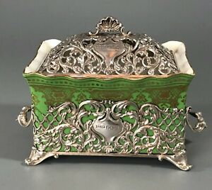 Edwardian Silver Butter Dish By James Dixon & Sons Sheffield 1905 AF CCZX