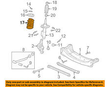 Oldsmobile GM OEM 99-04 Alero Rear Suspension-Spring 22132942