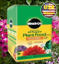 Miracle-Gro Water Soluble All Purpose Plant Food ,Fast healthy growth 8 OZ