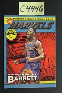 2020-21 Donruss - RJ BARRETT - New York Knicks - Marvels Insert (C4446