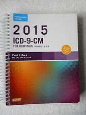2015 ICD-9-CM For Hospitals Volumes 1, 2, & 3 Spiral Binder. Ready to Ship!!