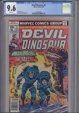 Devil Dinosaur #6 CGC 9.6  1978 Marvel Comic: New Frame! Price Drop!