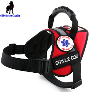 Service Dog - Support Dog - Therapy Dog Vest Harness ID Pocket ALL ACCESS CANINE
