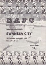 Away Teams S-Z Swansea City Domestic Club Competitions Football Programmes