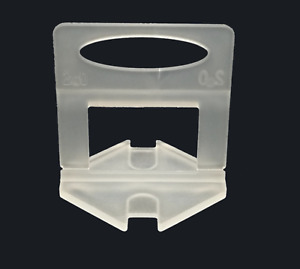 200PCS 1.5mm Reusable Tile Leveling Clips Wedges Home Wall Floor Spacers Tilling
