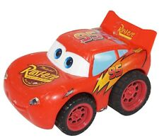 """LIGHTNING MCQUEEN FROM DISNEY PIXAR CARS - TOY PULL BACK 3"""" FIGURE USED"""