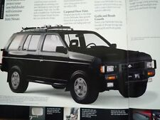 NISSAN Pathfinder Brochure 1989 US WD21 XE SE Terrano Terramax 日産 テラノ パスファインダー