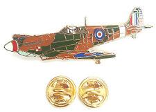 Spitfire 3/4 Turn RAF Enamel Lapel Pin Badge