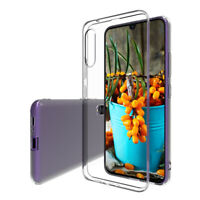 Samsung Galaxy A90 5G Handy Hülle Silikon Cover Schutzhülle Soft Case Etui klar