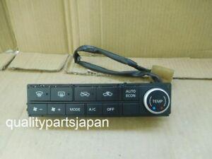 Nissan Skyline V35 AC Switch Climate Control INFINITI G35 2 DIN 2005-2007 BLACK