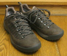 Mens TEVA Forge Pro eVent brown leather HIKING / WALKING SHOES sz 8.5 / 41.5
