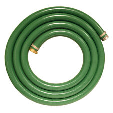 New listing Apache 1.5 Inch x 15 Foot Pvc Suction Hose with Aluminum Pin Fittings (Open Box)