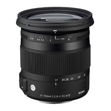 Sigma 17-70mm f/2.8-4 DC Macro OS HSM Lens for Nikon (International)