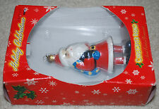 Christopher Radko Santa Claus Holiday Celebrations Hand Painted Ornament Target
